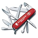 Victorinox Swiss Army Multi-Tool, Fieldmaster Pocket Knife, Red (Color: Red/WWP, Tamaño: 91mm)