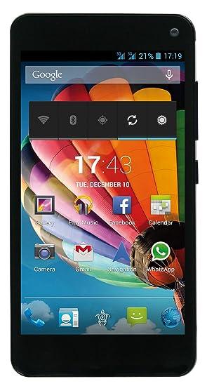 Mediacom M-PPBG501 Smartphone débloqué (5 pouces - 4 Go) Rouge (import Espagne)