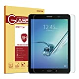 Samsung Galaxy Tab S2 8.0 Glass Screen Protector, OMOTON Tempered-Glass Protector with [9H Hardness] [Crystal Clear] [Scratch-Resistant] [No-Bubble Installation], For Wi-Fi Version SM-T710/T713 ONLY (Color: Clear)