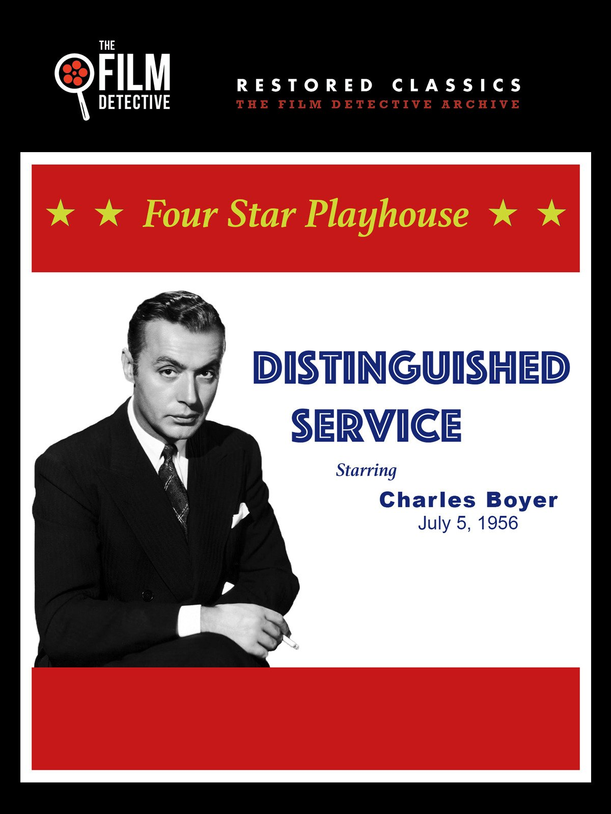 Four Star Playhouse: Distinguished Service, Starring Charles Boyer, July 5, 1956