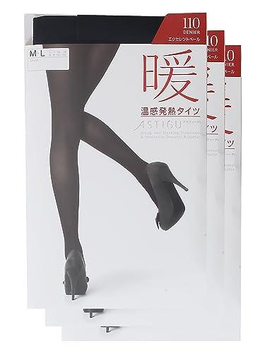 秋冬必备单品,厚木ATSUGI 110D秋冬款吸湿发热连裤袜