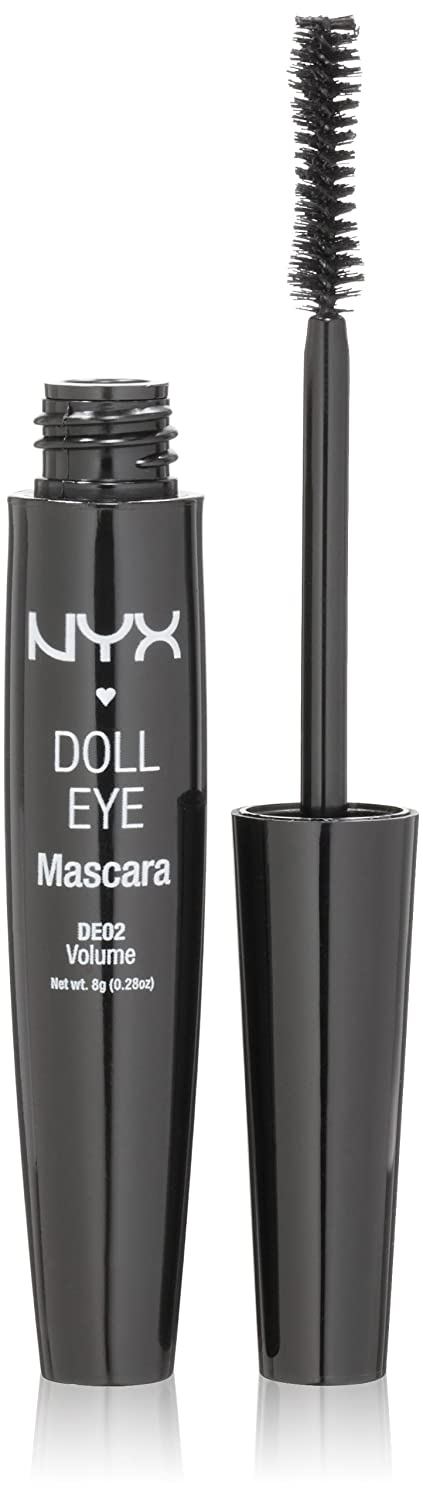 NYX Doll Eye Mascara, Extreme Black, ...