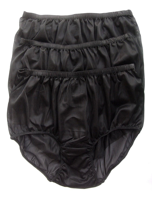Höschen Unterwäsche Großhandel Los 3 pcs Schwarz LPKBK Lots 3 pcs Wholesale Panties Nylon günstig online kaufen