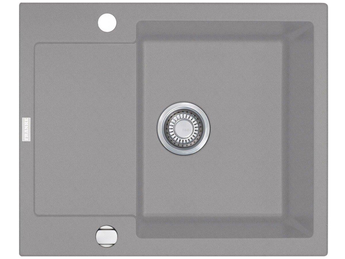 Franke Maris MRG 61162 Steingrau Fragranit Küchenspüle Spülbecken Auflage Spüle  BaumarktKritiken und weitere Infos