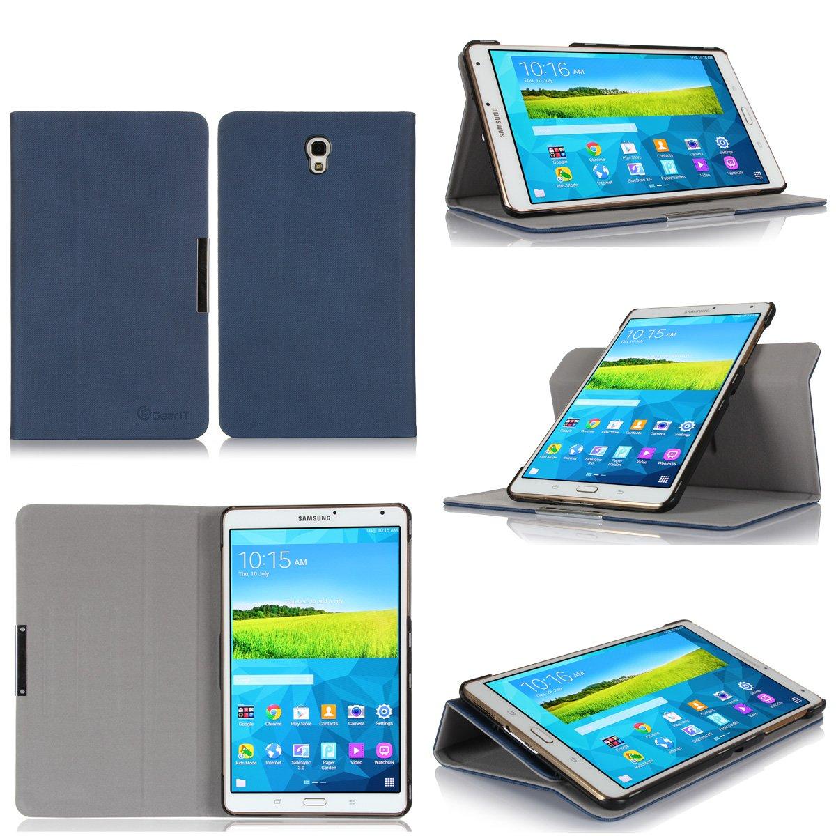 GearIt Samsung Galaxy Tab S 8.4 8,4 caso carcasas cubierta funda folio de piel  Electrónica Comentarios y más información