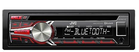 JVC KD-R851BTE Autoradios Bluetooth, En Façade