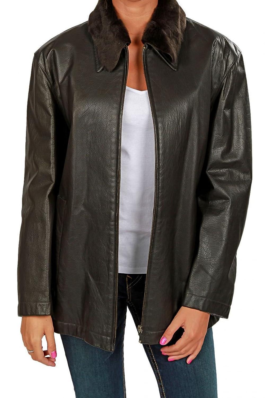 Cristiano di Thiene Damen Jacke Lederjacke , Farbe: Schwarz jetzt kaufen