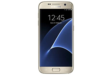 Samsung Galaxy S7 Smartphone débloqué 4G (Ecran : 5,1 pouces - 32 Go - 4 Go RAM - Android) Or (Import Italie)