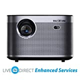 Home Cinema Projector, LiveTV.Direct Enhanced H3 Native 1080p HD 1900 ANSI Lumens Android 3D Smart TV Home Video Movie 4K Projector Built-in Harman/Kardon Hi-Fi Stereo Speaker (Color: H3)