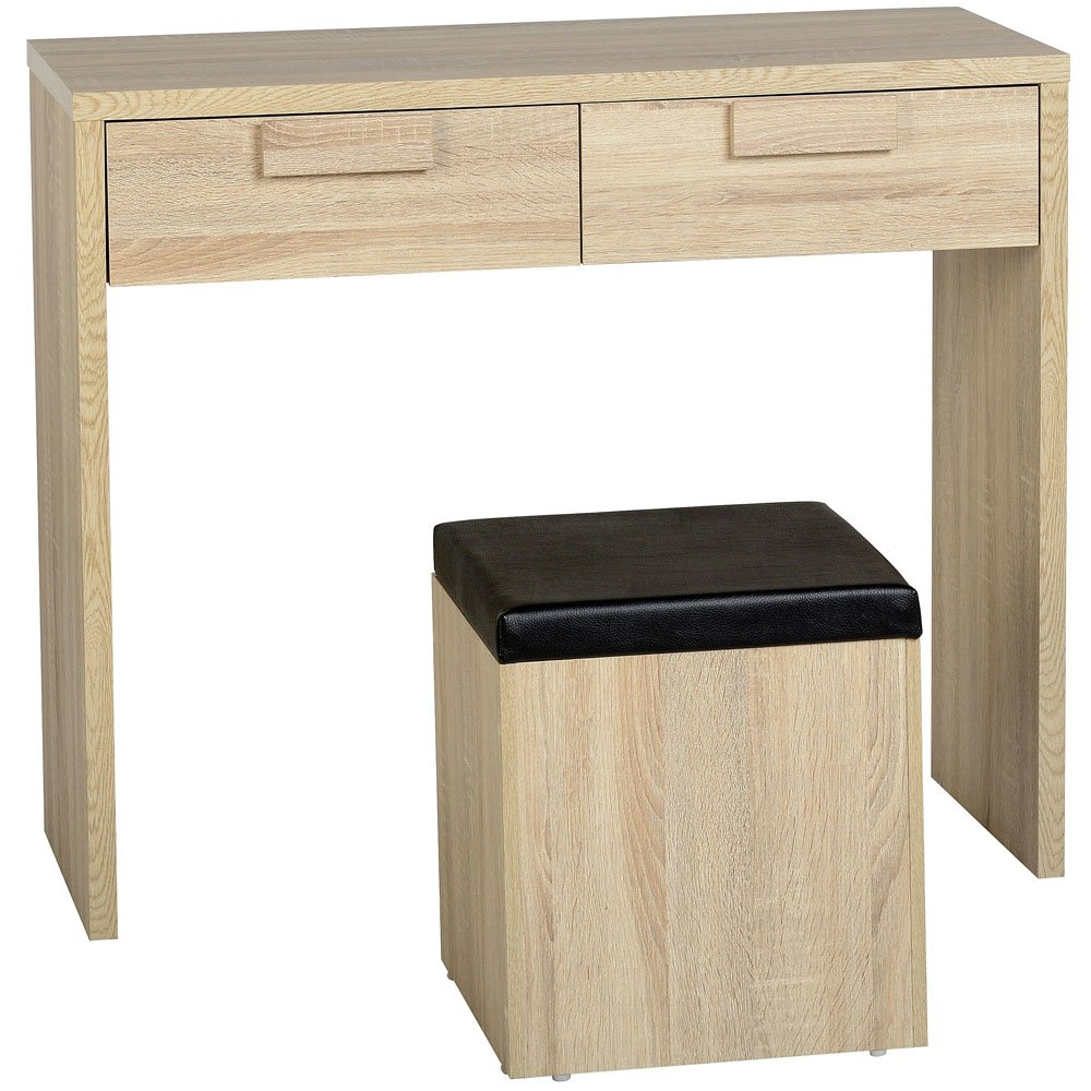 Cambourne 2 Drawer Dressing Table and Stool **Free Delivery**       Customer review and more info