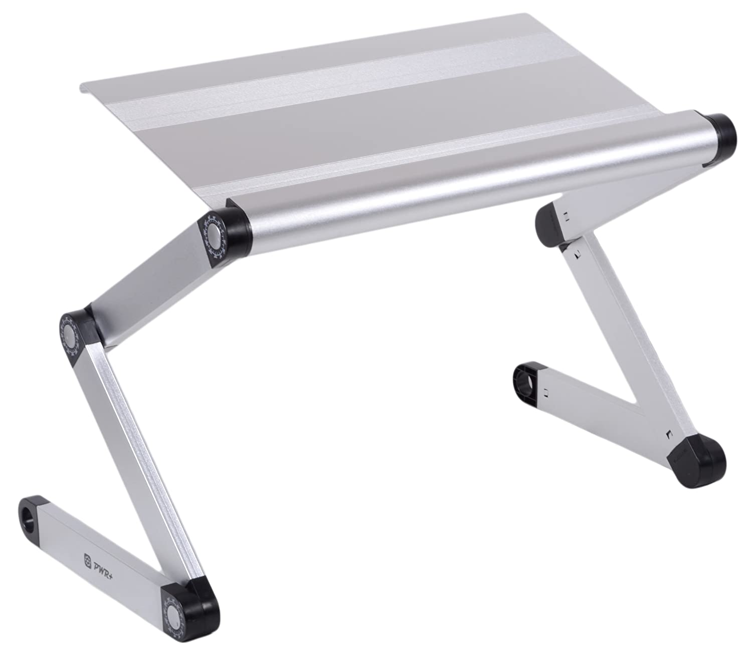 Pwr+ Lightweight Durable Portable Folding Laptop Notebook Book Ultrabook Tablet Pad Table Desk Tray Stand - Fully Adjustable Angle at Sears.com