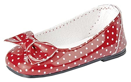 Ballerines rouges_blanches
