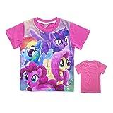 Lovelygift Toddler Girls' My Little Pony Short-Sleeved T-Shirt