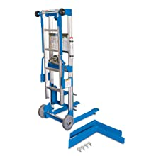 "Genie Lift, GL- 8, with Ladder, Heavy-Duty Aluminum Manual Lift, 400 lbs Load Capacity, Lift Height 10' 0 .5"" from Ground"