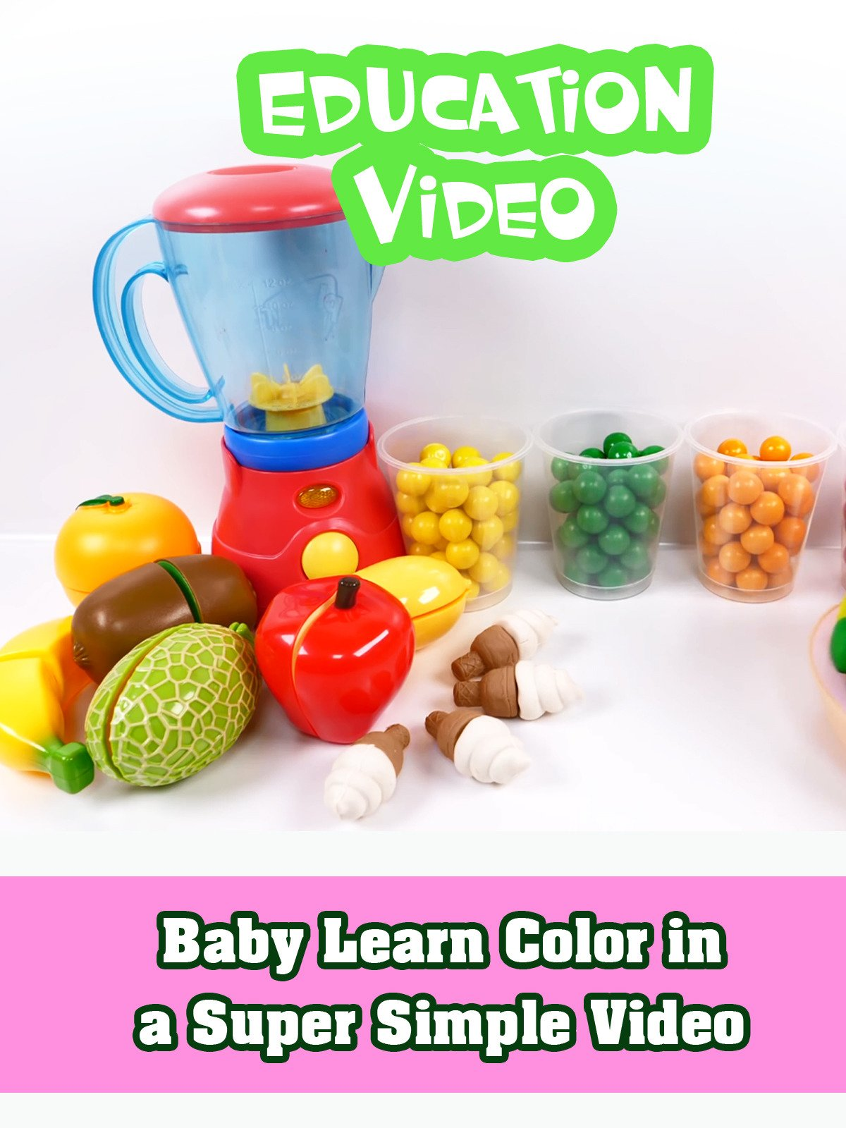 Baby Learn Color in a Super Simple Video