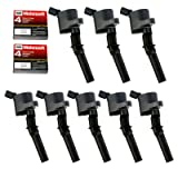 8 pack Ignition Coil DG508 & Motorcraft Spark Plug SP479 for Ford 4.6L 5.4L V8 DG457 DG472 DG491 CROWN VICTORIA EXPEDITION F-150 F-250 MUSTANG LINCOLN MERCURY EXPLORER DG-508 3W7Z-12029-AA
