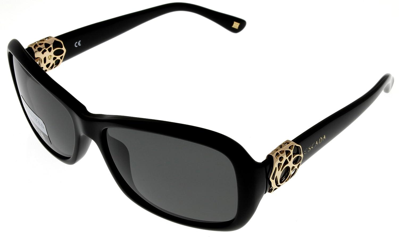 Escada Sunglasses Women Black Polarized SES220 700P Rectangular at Sears.com