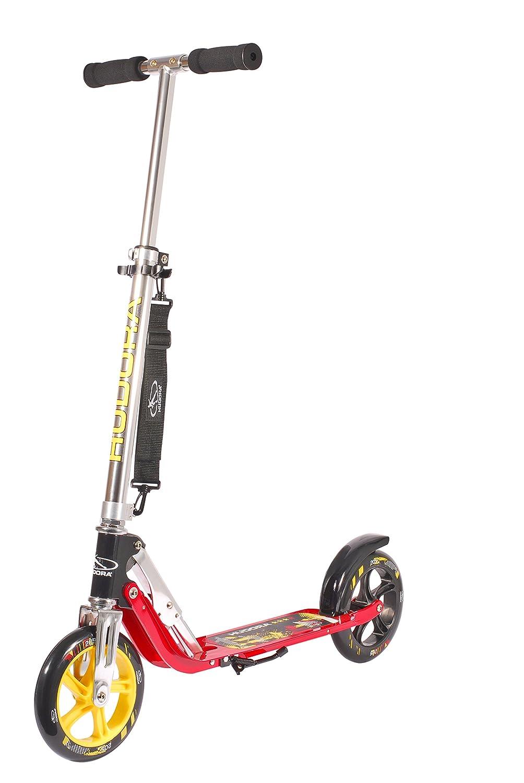 Hudora Big Wheel 250 (art. 14016), monopattino a due ruote ultra molleggiate per bambini