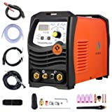 TIG 200 AC/DC Pulse Inverter Welder Tig Welding Machine 220V with Tig Torch Weld Aluminum Steel Metal Plate (Tamaño: TIG200PACDC)