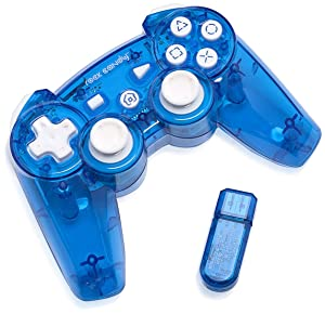 PDP Rock Candy Wireless Controller, Blue - PlayStation 3 (Color: Blue)
