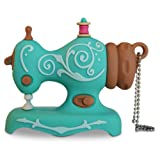 SEW PRO 4GB Vintage Sewing Machine USB Flash Drive for PC And Mac, Embroidery And Sewing Machines