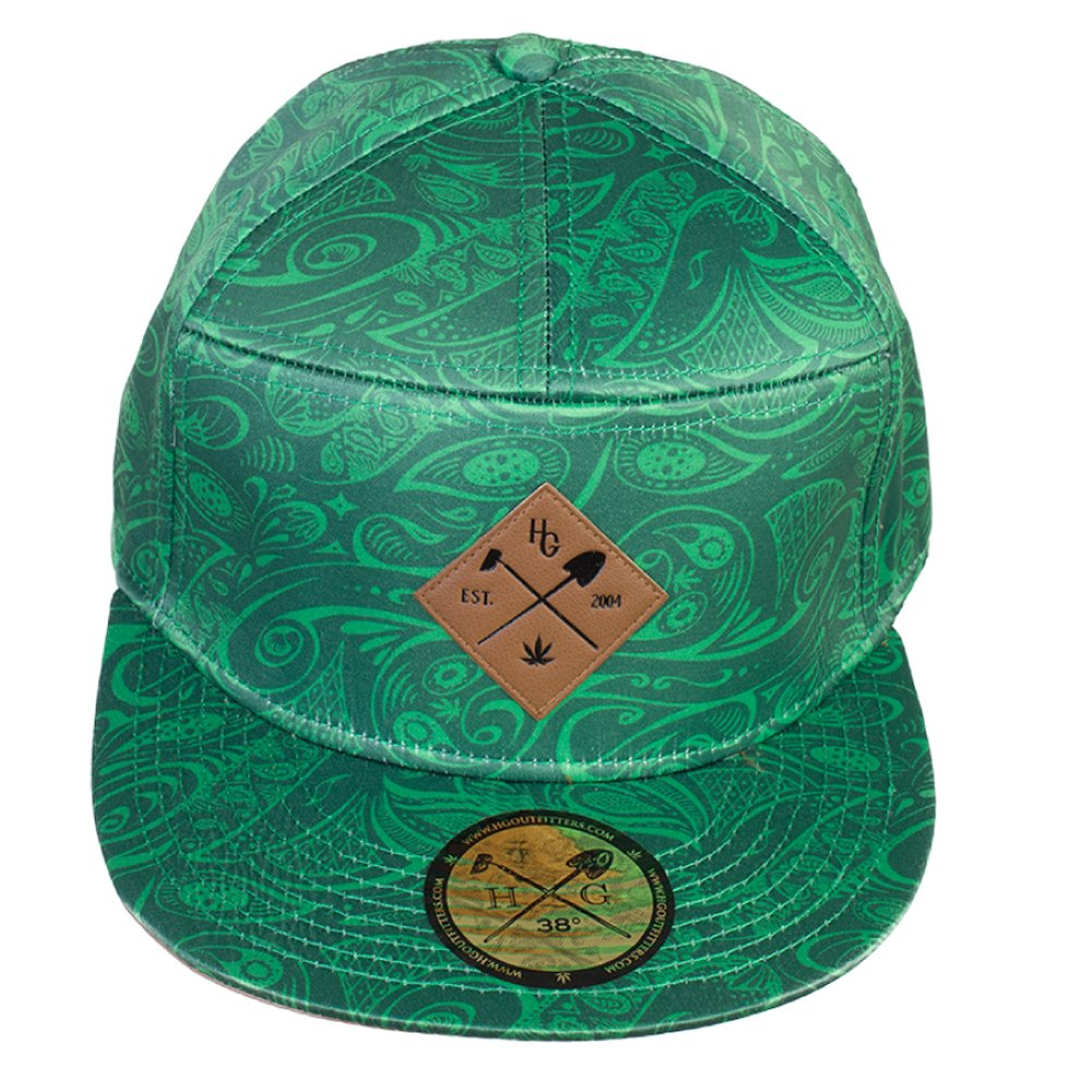 HomeGrown Outfitters Men's Vintage Hybrid Claspback O/S Green outfitters nation футболка