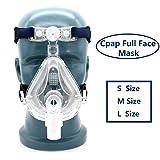 Fencia Masks Full Face and headgear Universal Adjustable (L)