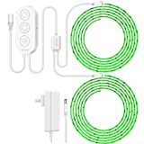 Govee (32.8ft) LED Strip Lights Wireless Smart Phone APP Control Compatible with Alexa Google Assistant Light Strip Kits Non-Waterproof Music Sync RGB Tape Lights (Not Support 5G WiFi) (Color: Multicolor, Tamaño: 32.8 FT)
