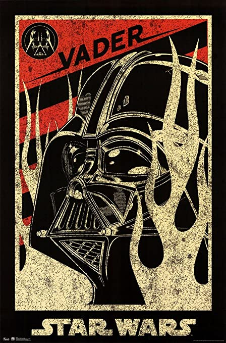 Star Wars - Darth Vader Propaganda Art Print