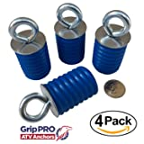Polaris Ranger Lock & Ride ATV Tie Down Anchors - Set of 4 Lock and Ride type Anchors by GripPRO ATV Anchors