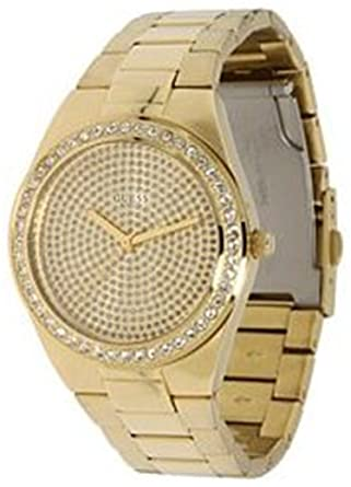 GUESS U11055L1 Sporty Radiance Watch, Gold