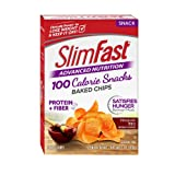 SlimFast Advanced Nutrition 100 Calorie Snacks, Baked Crisps, Mesquite BBQ, 1 oz. Bag, Pack of 1 box (5 count) (Tamaño: 5 Ounce (Pack of 1))