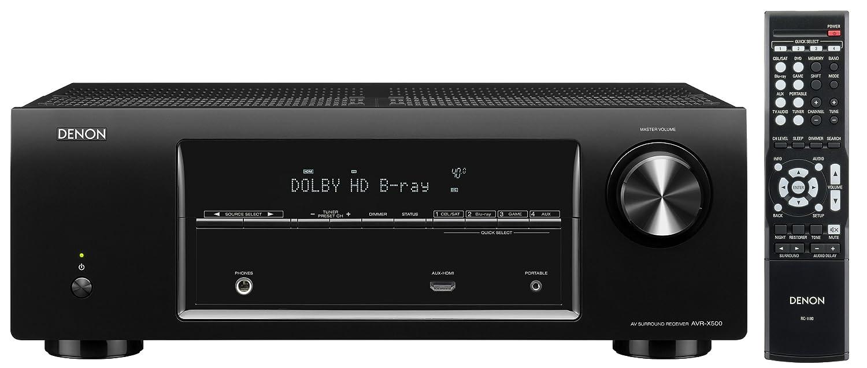 Denon AVR-X500 5.1 AV-Receiver (True-HD,