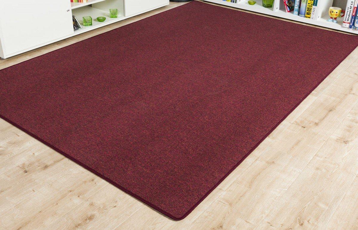 Schlingen Teppich Torronto rot, Größe Auswählen200 x 290 cm    Überprüfung und Beschreibung