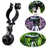Eyeskey Universal Portable Cellphone Adapter, Compatible with Binoculars, Monocular Spotting Scope, Microscope and Astronomical Telescope (Color: NEW Cell Phone Adapter Mount-S Size)