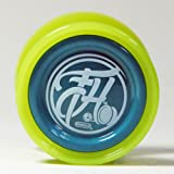 Duncan Freehand Pro Yo-Yo with Counterweight (Lime and Blue)