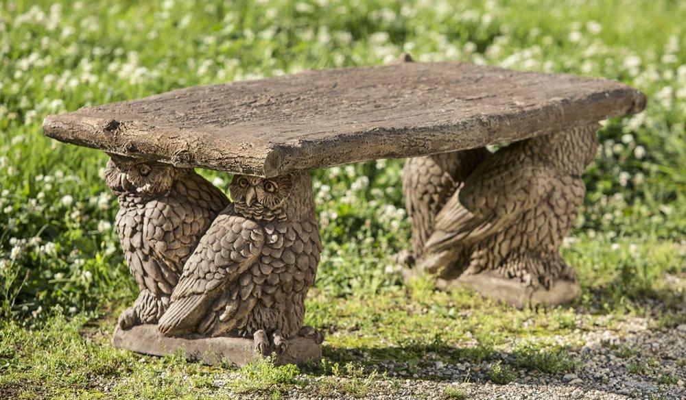 Owl Bench by Campania International