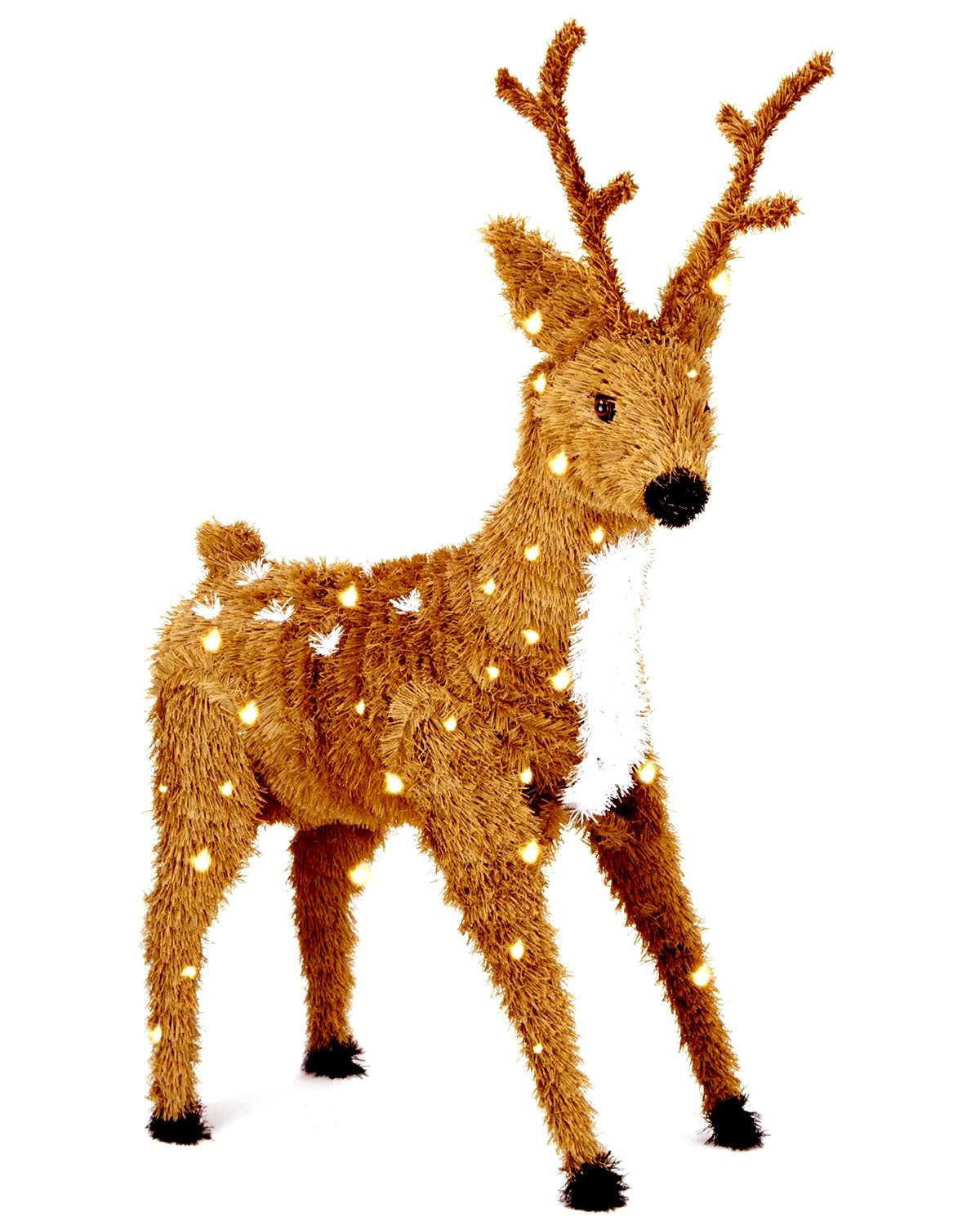 Reindeer Lighted Yard Displays | Christmas Wikii