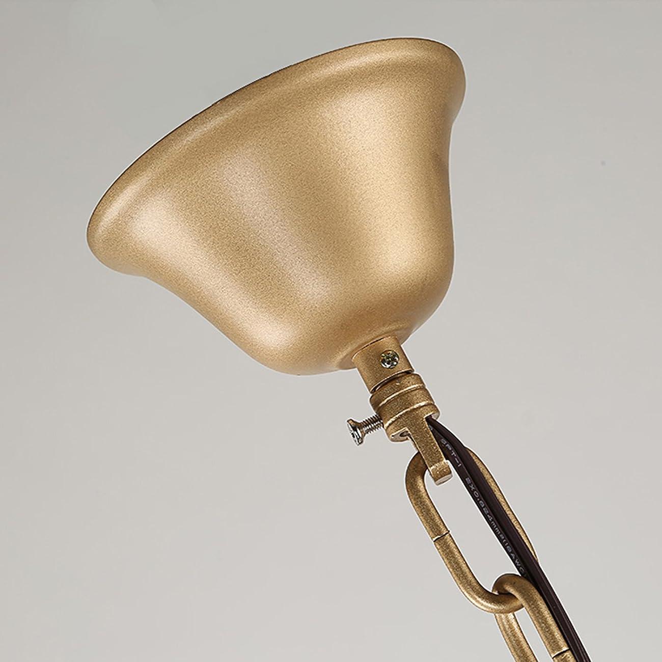 Garwarm Vintage Chandelier 3 lights Antique Pendant light Home Ceiling Light Fixtures Chandeliers Lighting,Golden 3