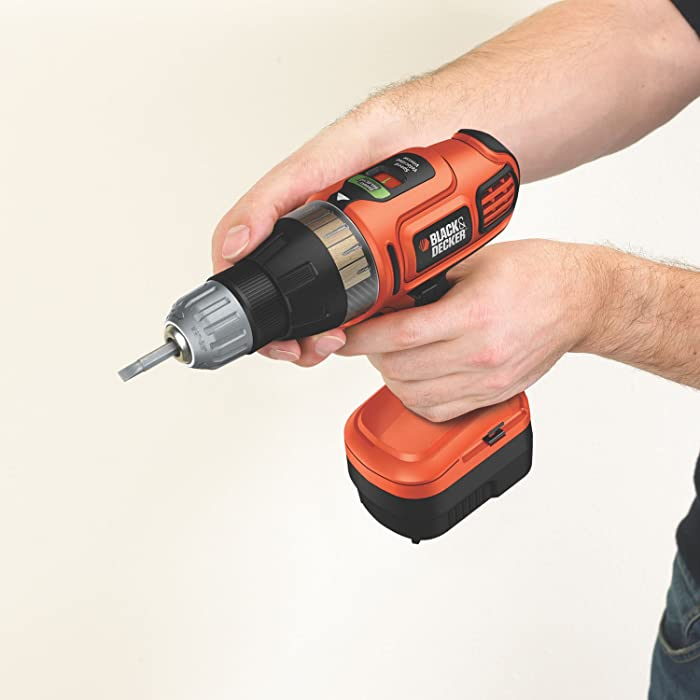 Black & Decker SS-12 12v Cordless Drill/Driver Tool via Amazon