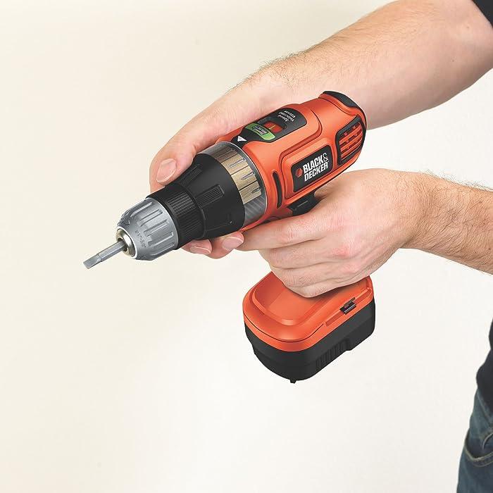 Black & Decker SS-12 12v Cordless Drill/Driver Tool via Amazon