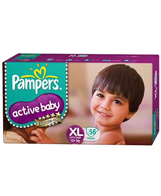 Active Baby Extra Large Size Diapers