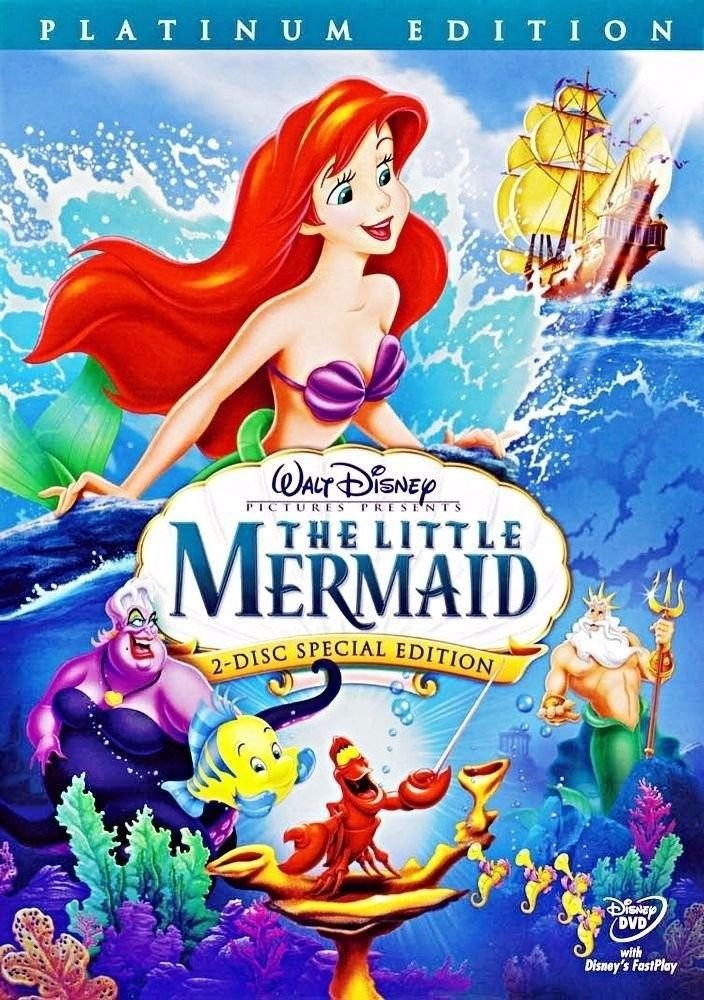 Buy Little Mermaid Dvd Set Now!