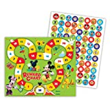Eureka Back to School Disney's Mickey Mouse Clubhouse 'Mickey Park' Mini Rewards Chart for Kids with Stickers, 736pc, 5' W x 6' H