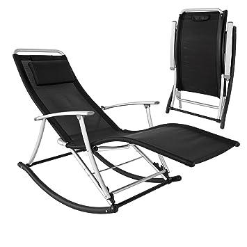 SoBuy OGS18 Rocking Chair, Fauteuil à bascule pliant avec ...
