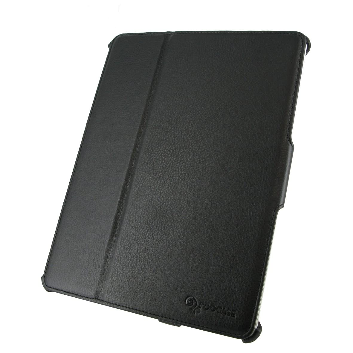 rooCASE Slim-Fit Folio Case for iPad 2 - Black