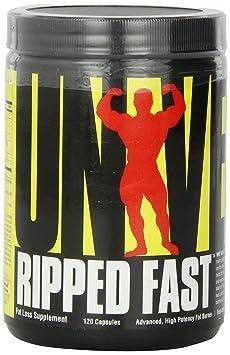 Universal Nutrition - RIPPED FAST Advanced - Hochwirksamer Fatburner, 120 Kapseln