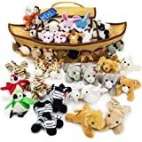 Imagination Generation 2-Foot Noah's Ark Plush Toy Playset - 42-Piece Set of 4 Stuffed Animals with Ark - Bible Story Baby Gift, Great for Easter, Christmas, Baptisms, Christenings (Tamaño: 4 inches)