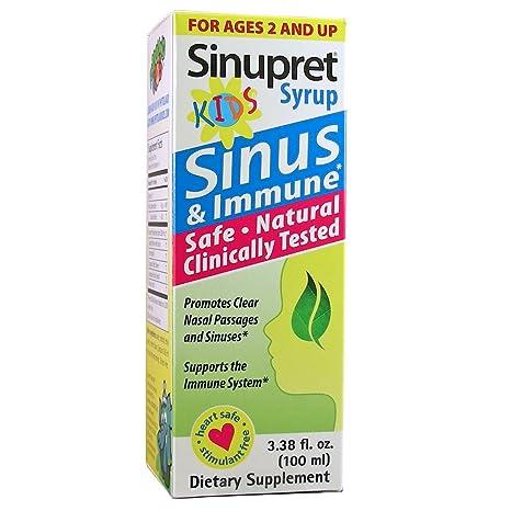 Отзывы Sinupret Syrup for Kids 3.38 fl oz