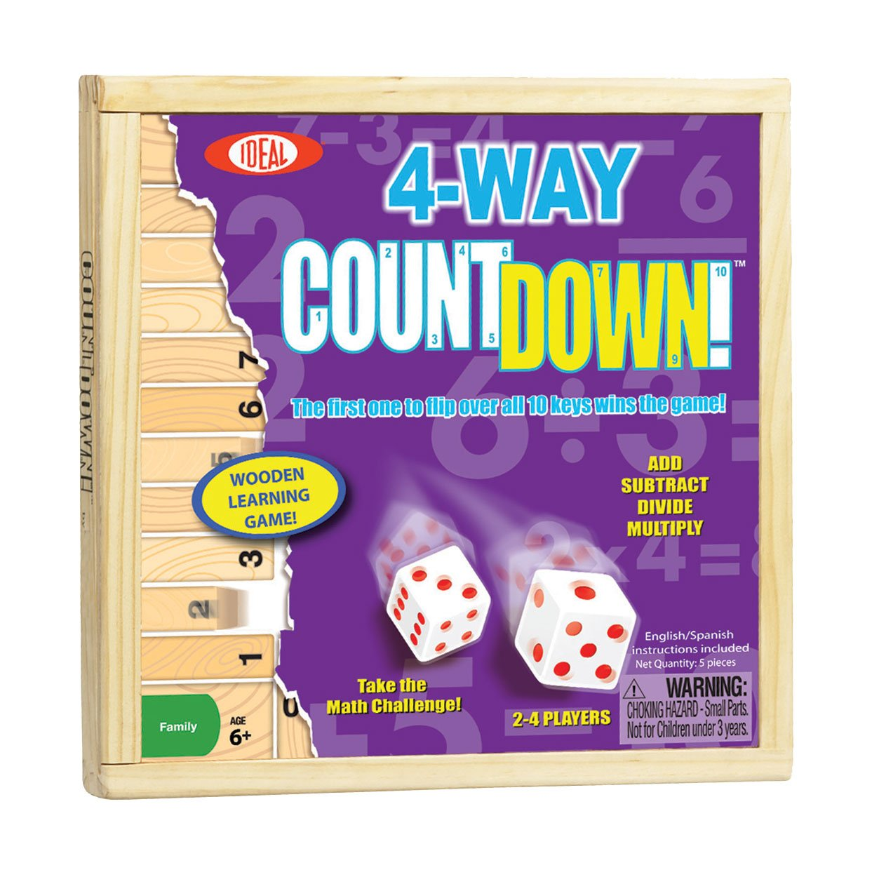Math games Count Down gifts for kids